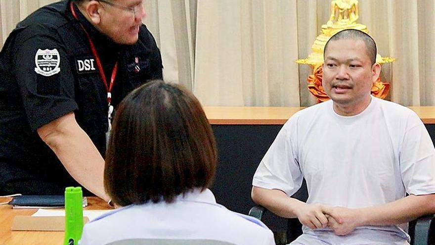 Llega a Tailandia el monje budista reclamado por blanqueo y asalto sexual