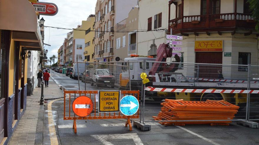Aspecto actual de la Calle Ruiz de Padron
