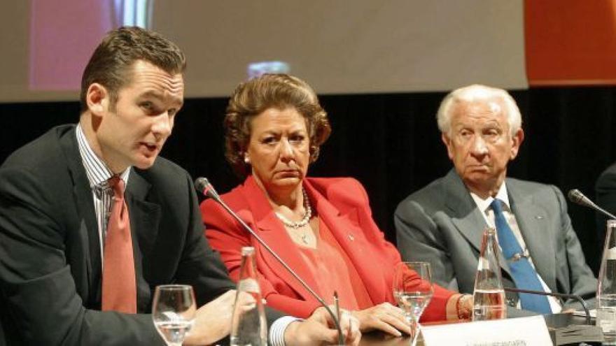 Iñaki Urdangarín y Rita Barberá.