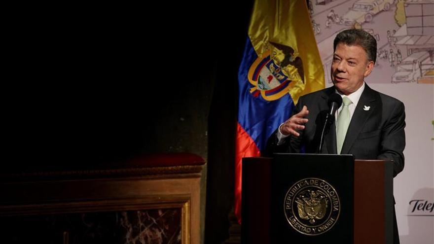 """El presidente Santos viaja a su cita con Maduro """"sin grandes expectativas"""""""