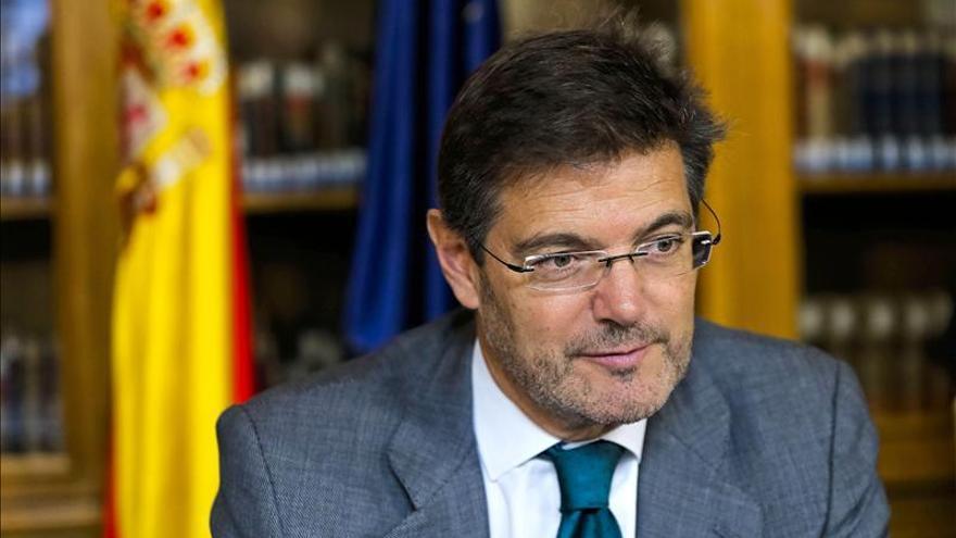 Catalá quiere incluir los gastos de la justicia gratuita en los presupuestos