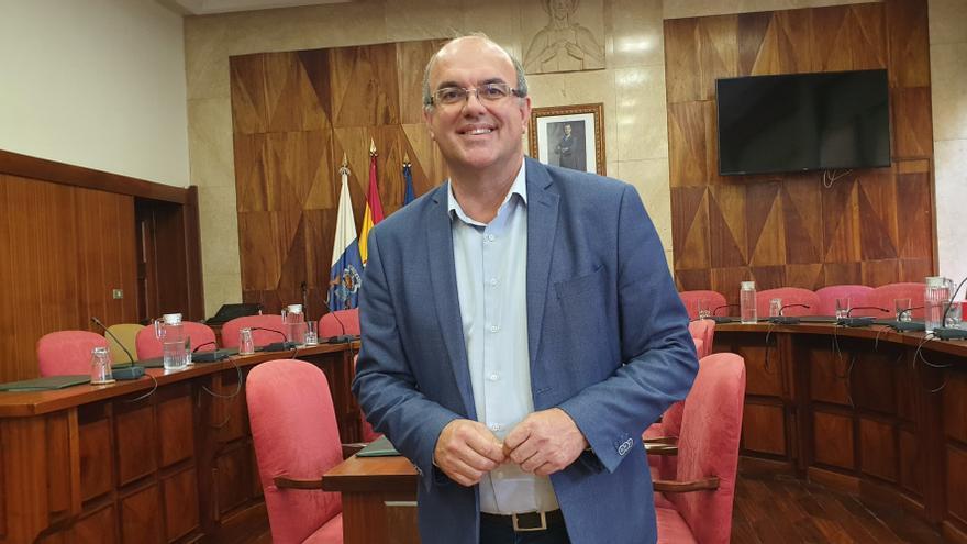Anselmo Pestana este viernes en el Cabildo.