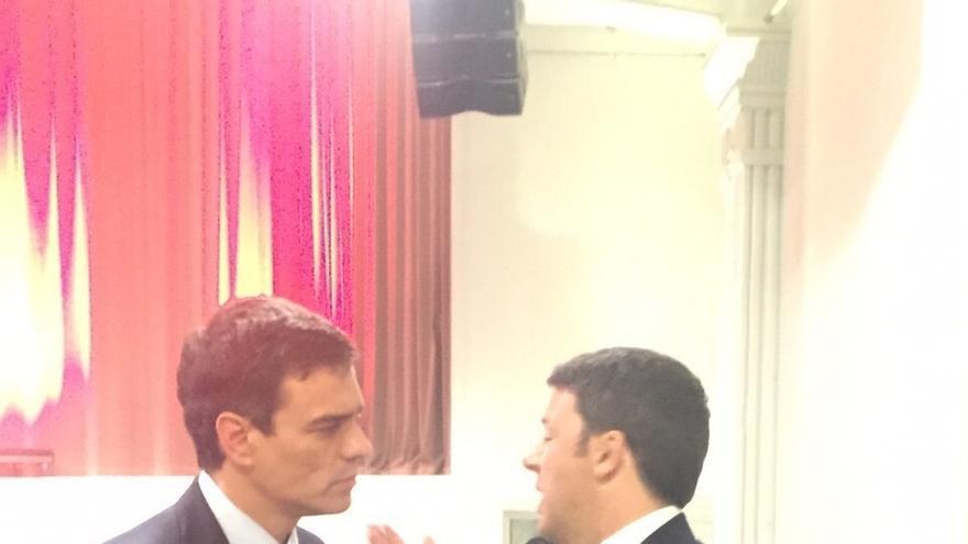 Pedro Sánchez contará con Renzi, Valls y Schulz en la Conferencia Política en la que aprobará su programa electoral