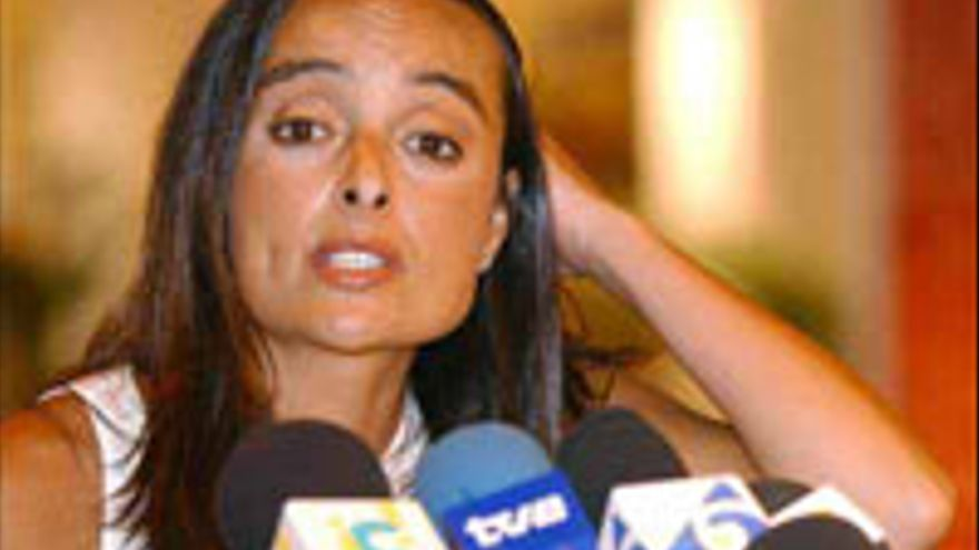 Cristina Reyes, del comercio exterior al golf; y del golf, a la limpieza. Más glamour.