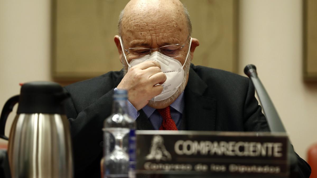 El presidente del CIS, José Félix Tezanos. EFE/ Mariscal/Archivo