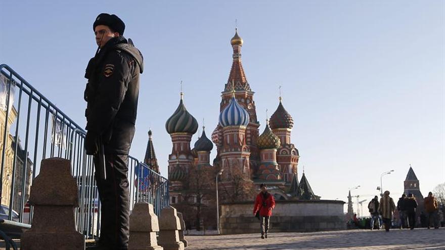 Rusia desarticula una célula terrorista que preparaba atentados en Moscú