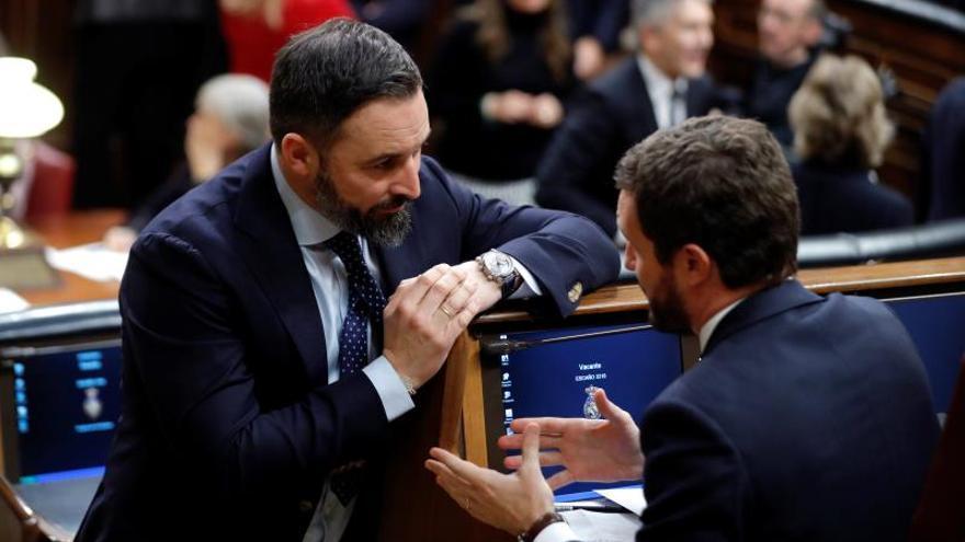 El PP y Vox inician la legislatura con una brecha en sus relaciones