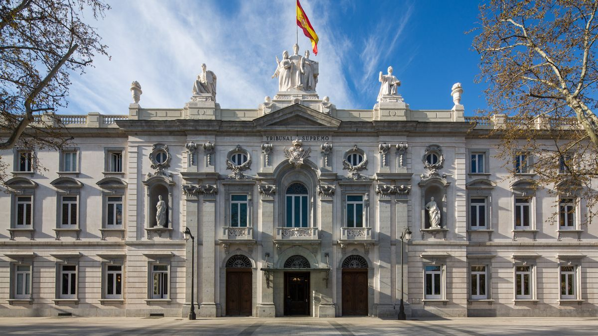 Sede del Tribunal Supremo en Madrid.