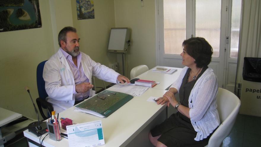 Consulta  en el Centro de Salud Santo Grial de Huesca