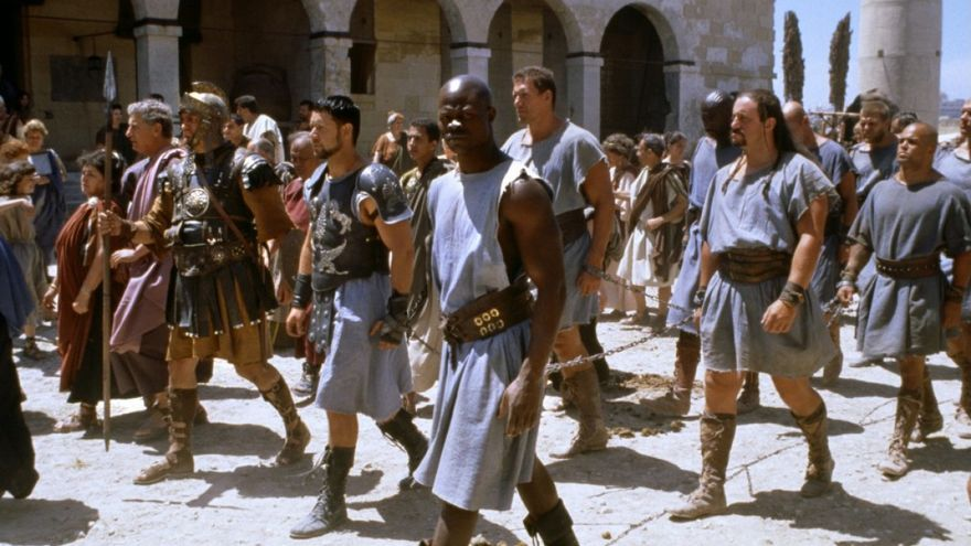 Parte de la película Gladiator se rodó en Ouarzazate, Marruecos.