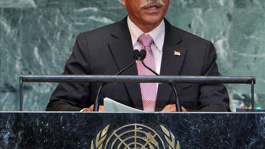 Kiribati pide una fuerte declaración del Pacífico contra el cambio climático