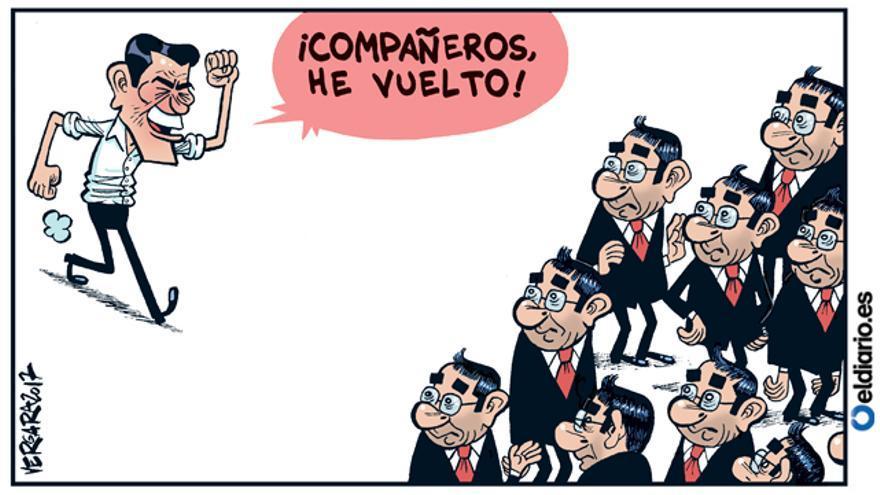 Pedro Sánchez: el retorno