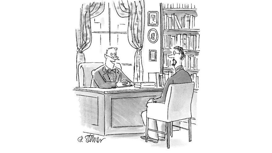 Viñeta de Peter Steiner en The New Yorker
