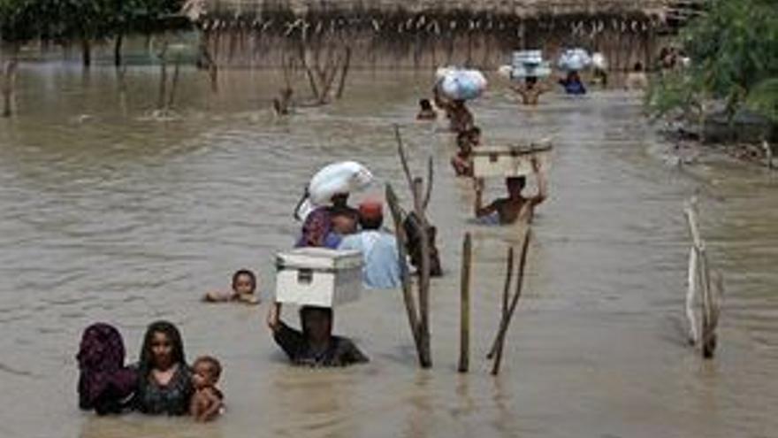 Seis millones de afectados por las inundaciones en Pakistán