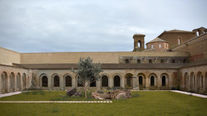 Claustro del Monasterio de Sijena