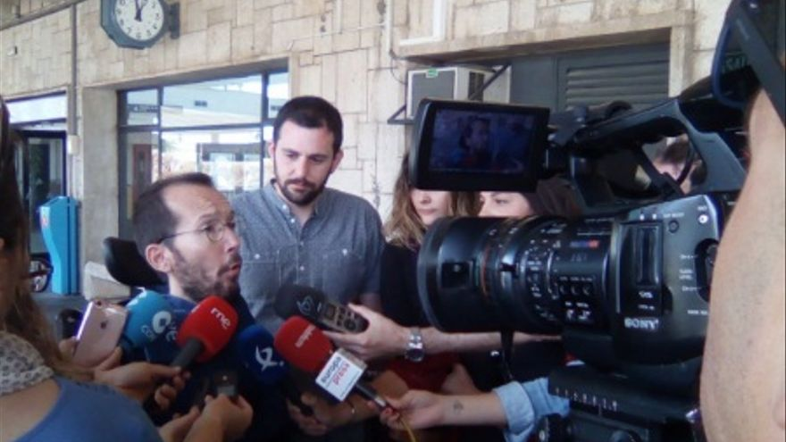 Pablo Echenique, en Cáceres / @Podemos_EXT