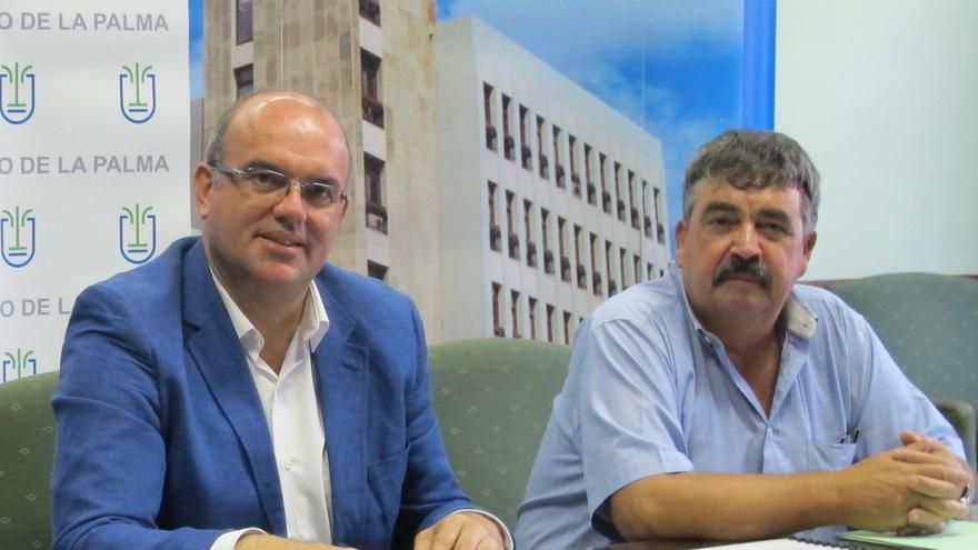Anselmo Pestana y Juan Manuel González.
