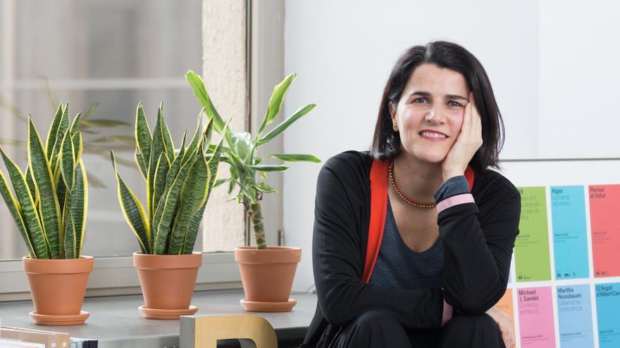 La directora del Centro de Cultura Contemporánea de Barcelona, Judit Carrera.