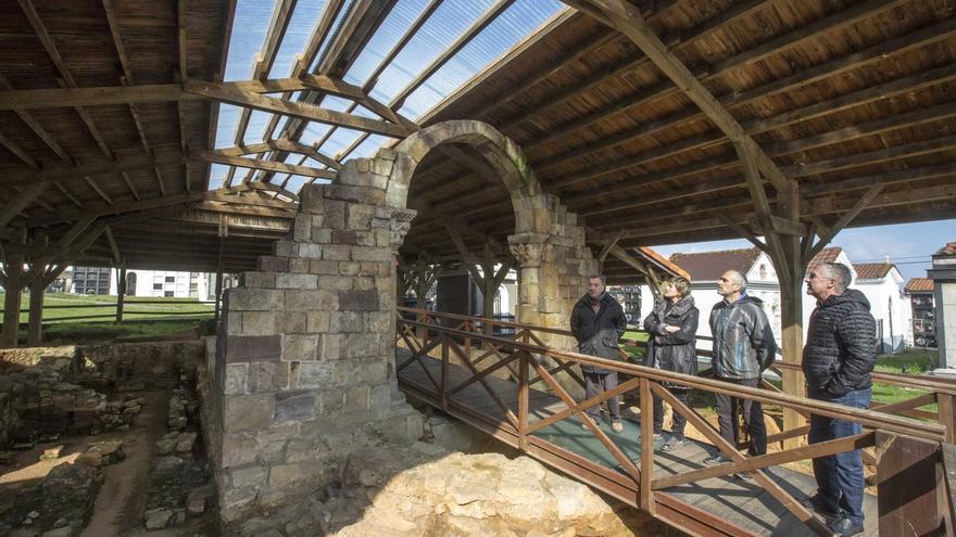 El Ayuntamiento rehabilita la cubierta de las termas romanas de Maliaño