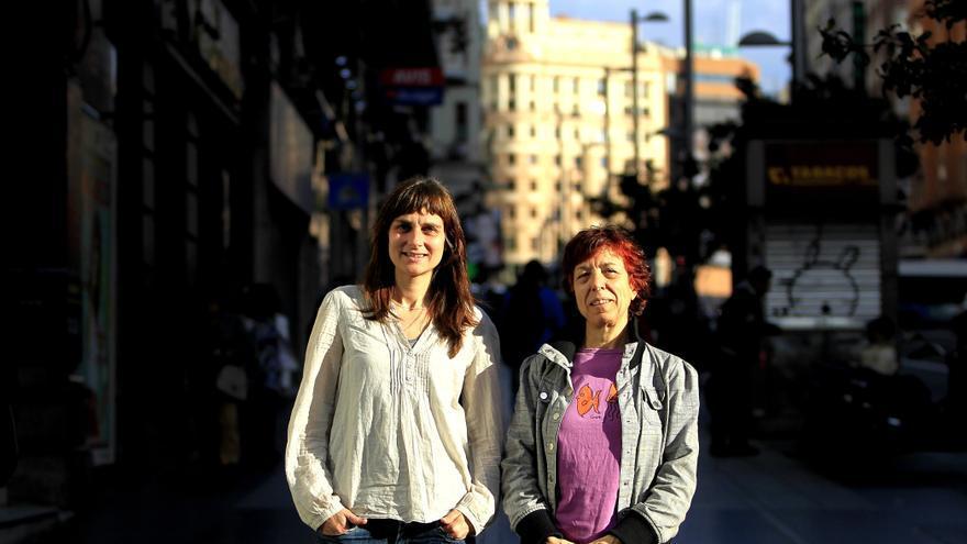 Bibiana Medialdea y María Pazos. FOTO: Marta Jara.