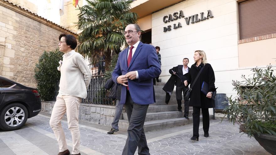 Lambán se suma a Page y no descarta una futura ilegalización de partidos independentistas