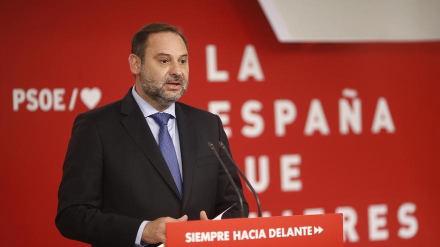 Ábalos rechaza un gobierno con Podemos porque no resuelve ni la gobernabilidad, ni la investidura y además puede restar
