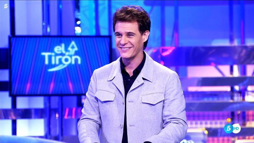 Christian Gálvez en el concurso 'El Tirón'