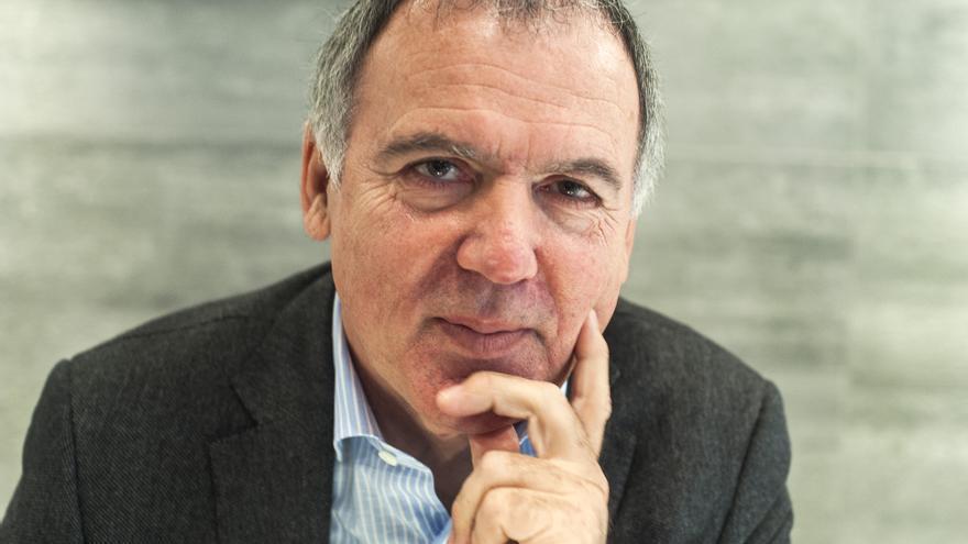 Lorenzo Vidal de la Peña, presidente de CEOE-Cepyme Cantabria. | JOAQUÍN GÓMEZ SASTRE