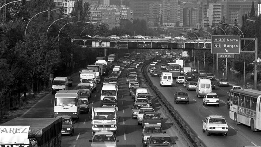 Madrid, cuarta ciudad española más congestionada de tráfico