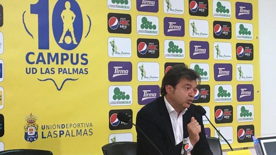El director general deportivo de la UD Las Palmas, Toni Cruz.