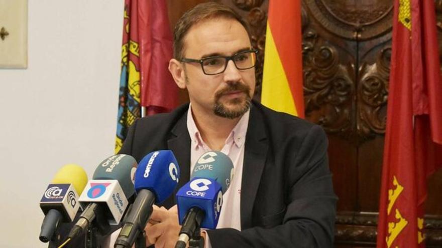 Diego José Mateos Molina, alcalde de Lorca
