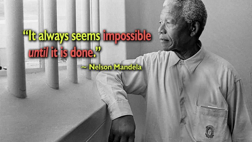 Nelson Mandela. Foto Celestine Chua