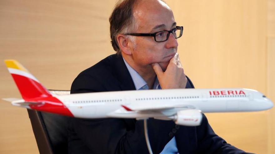 El presidente del grupo Iberia, Luis Gallego.