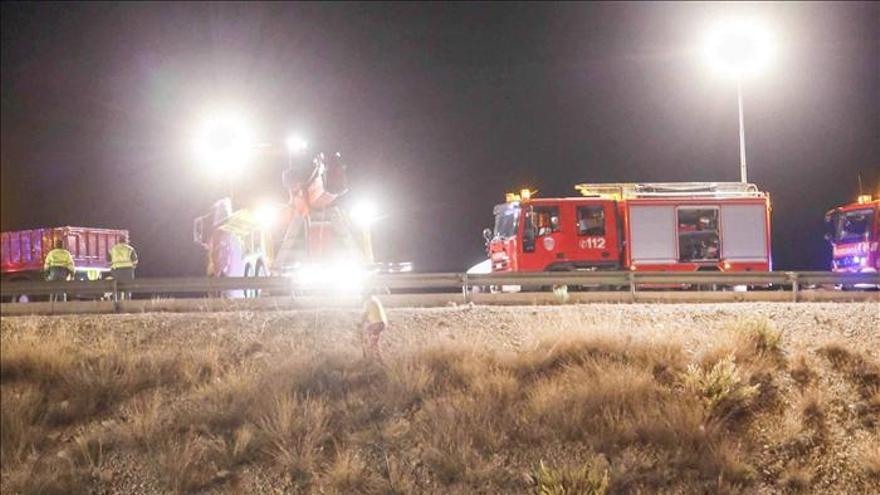 Once fallecidos y 39 heridos, balance del accidente de autobús en Venta Olivo