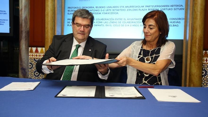 Bilbao incrementará un 26% la oferta de plazas en Haurreskolak