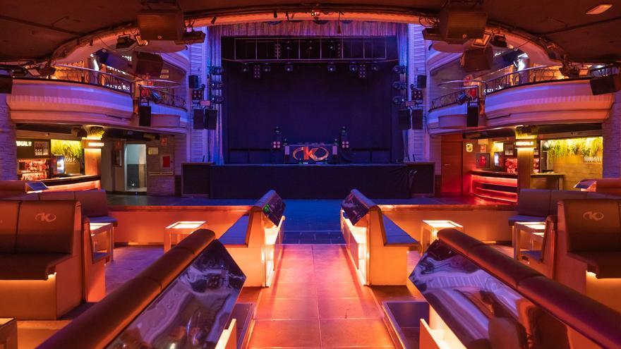 Zona de reservados de la pista de Kapital (Teatro Kapital)