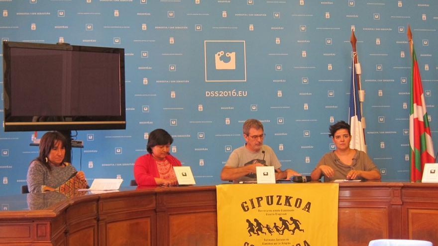 Más de una decena de entidades sociales crean la Plataforma por la acogida Gipuzkoa Solidarioa