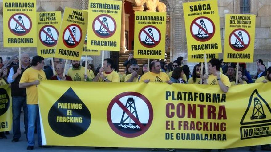Movimiento contra el fracking en Guadalajara