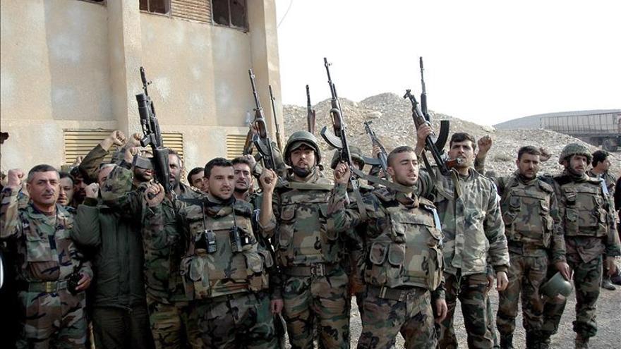 El régimen sirio toma el control de la estratégica localidad de Qara