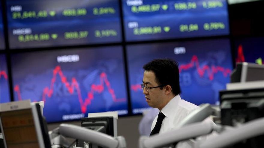 El Kospi surcoreano cae un 0,23 por ciento hasta los 2.099,71 puntos