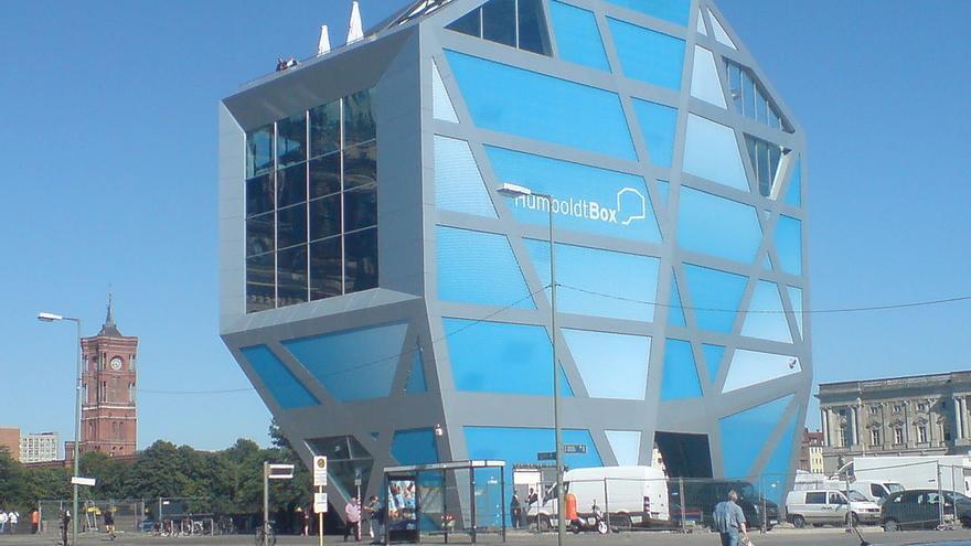 Estructura modular Humboldt Box, en una imagen de archivo