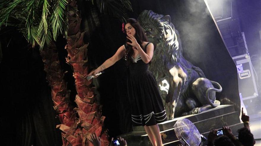 "Lana del Rey, apasionado icono del ""postureo"" en Madrid"