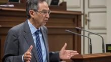 Antonio Castro Cordobez diputado por La Palma y presidente del Grupo Nacionalista Canario en el Parlamento regional.