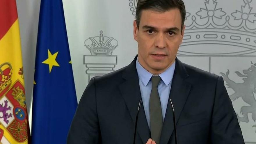 Sánchez pide a la UE una respuesta económica y social frente al coronavirus