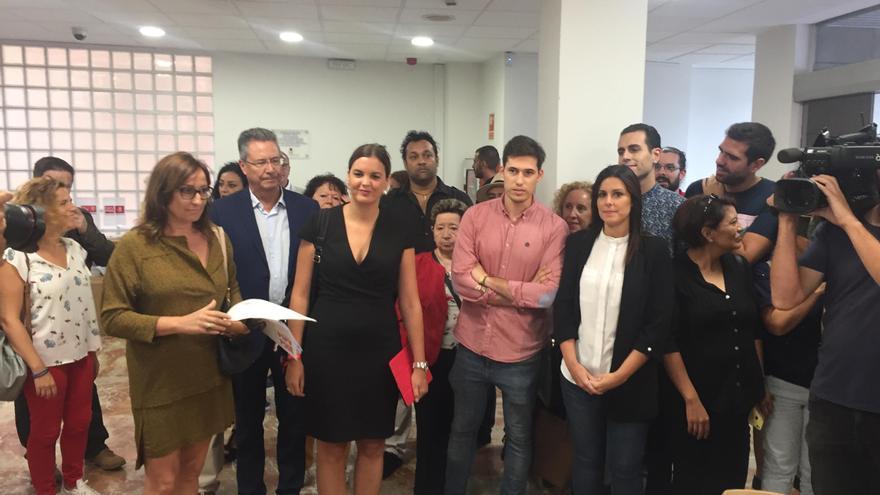 La portavoz del grupo municipal socialista y secretaria general del PSPV de la ciudad de València, Sandra Gómez
