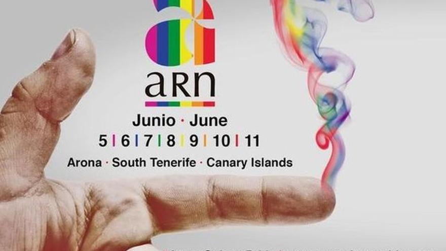 Cartel de la cita que acoge Arona de este lunes al domingo 11 de junio
