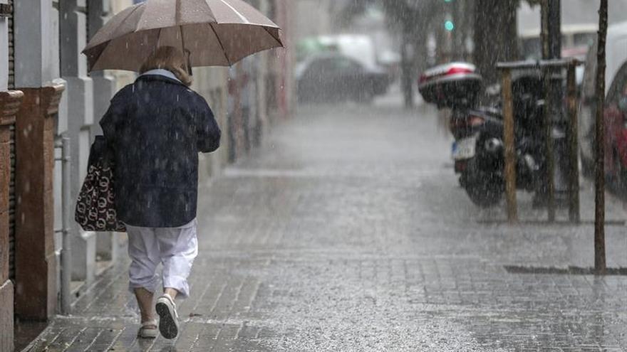 Alerta en 15 provincias por lluvias, con Tarragona y Huesca en riesgo naranja