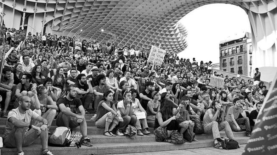 Concentración ciudadana en Sevilla