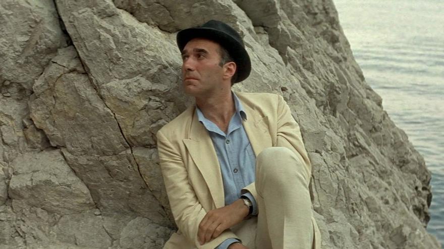 Piccoli en Le Mépris (El desprecio) de Godard