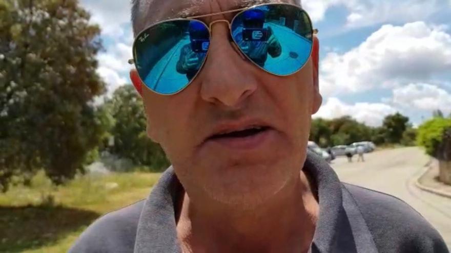 Captura del vídeo de Alfonso sobre el chalé de Pablo Iglesias e Irene Montero